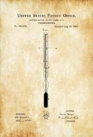 surgical instrument patent 1902 doctor office decor. Interesting Office A Patent Print Poster Of A Thermometer Invented By Adolf Bayer The  Was Issued The United States Patent Office On August 29 1882 In Surgical Instrument 1902 Doctor Decor R