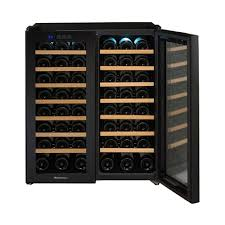 large wine refrigerator. Modren Large Wine Enthusiast  48Bottle Cooler Black With Large Refrigerator G