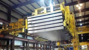 sheet lifter gantry bridge crane below the hook coil grab coil hook