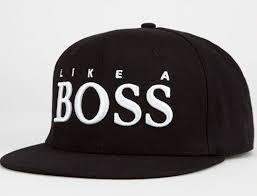 <b>Boss</b> Snapback <b>Hat</b> by REASON   Мужские шляпы, Шапка ...