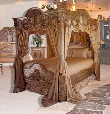 Luxurious over-the-top canopy bed, made in the good ole USA! Yeah ...