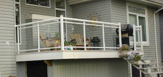 aluminum railing 4 aluminum double top glass rail