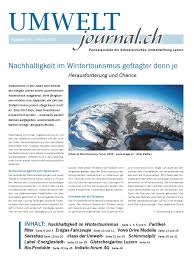 Umweltjournal 15 By Hans Muster Issuu
