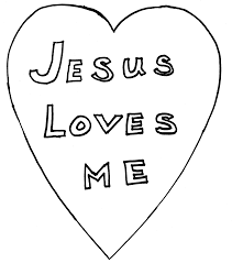 Jesus loves you coloring page coloring pages coloring pages. 6 Free Coloring Pages Jesus Loves Me Bible Coloring Pages Jesus Coloring Home