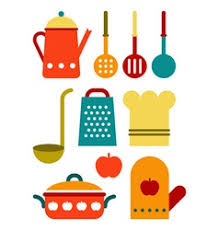 colorful kitchen utensils.  Kitchen Colorful Kitchen Utensil Set Vector  Inside Kitchen Utensils A