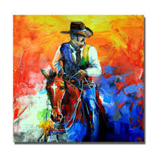 Paintings For Living Room Walls Online Get Cheap Horse Pop Art Aliexpresscom Alibaba Group