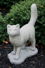 cats garden statues cat sculptures