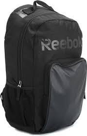 reebok backpack. reebok sport black casual backpack (b79991)
