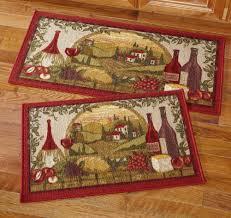vineyard kitchen rugs wine vineyard kitchen rug set