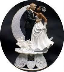 chic interracial wedding couple multiple ethnicities wedding Wedding Cake Toppers Ginger Groom interracial hispanic man & african american american woman wedding cake topper ~ represents what i Funny Wedding Cake Toppers