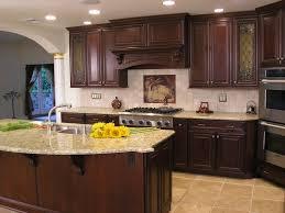 Kitchen Designs With Cherry Cabinets black granite cherry cabinets