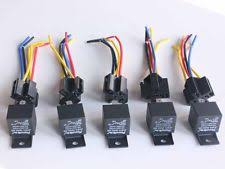 relay socket 5pcs dc 12v car spdt automotive relay 5 pin 5 wires w harness socket 30