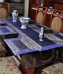 placemats for round tables design decorating for stunning lal haveli dining table runners linen set with
