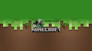 youtube channel art minecraft. Delighful Channel Download Banner Inside Youtube Channel Art Minecraft I