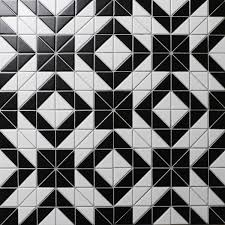 tile pattern. Cheap Price 2\u0027\u0027 Black White Triangle Tile, Porcelain Floor Tile Patterns Online Pattern