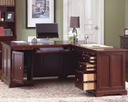 executive l shaped home office desk
