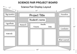 science fair display board templates science fair board layouts familycourt us