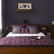 go for rich shades purple bedroom ideas