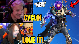 "Streamers React to the *NEW* ""<b>CYCLO</b>"" <b>Outfit</b> 