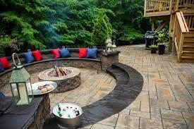 landscape design tips combining decks