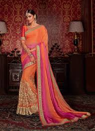 Indian Saree Designs Images Function Wear Designer Saree Indian Saree Online Shopping View Heavy Designer Sarees Viva N Diva Product Details From Viva N Diva Couture On