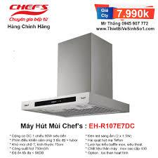 Máy Hút Mùi Chefs EH-R107E7DC | Tổng Kho Bếp Nhập Khẩu Chính Hãng
