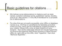 Mla Brackets Ppt Mla Works Cited Guide Powerpoint Presentation Id 2941857