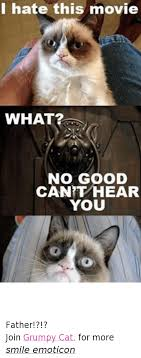 grumpy cat good smile. Unique Good Cats Movies And Grumpy Cat I Hate This Movie WHAT NO GOOD Throughout Cat Good Smile