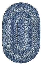 lake house rugs denim blue jute braided rug