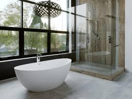 concrete floors bathroom
