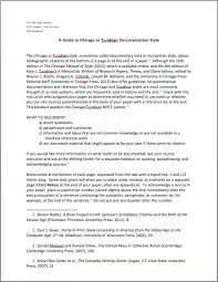 chicago essay format chicago style paper example