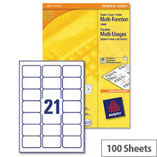avery sheet labels avery 21 per sheet multifunction labels 70 x 42 3mm 2100 labels