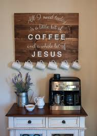 Charming Coffee Station Design Ideas for Starting Your Day Off ...