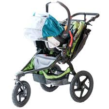 jogging stroller with car seat baby