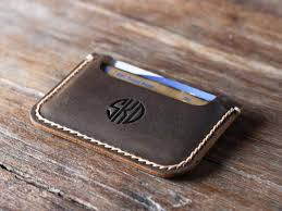 men s slim wallet front pocket wallet front