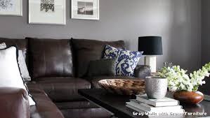 gray walls brown furniture. Gray Walls With Brown Furniture Contemporain Salon L