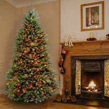 6.5-foot Dunhill Fir Pre-lit or Unlit Artificial Hinged Christmas Tree -  Free Shipping Today - Overstock.com - 16600907