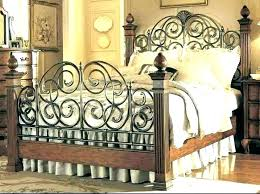 King Size Iron Bed Metal Frames For Sale Frame Canada Best With ...