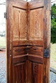 diy corner door shelf doors repurposing upcycling shelving ideas
