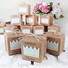 <b>50Pcs Little Prince</b> Little <b>Princess</b> Baby Shower Favor Boxes + ...