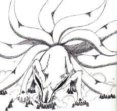 Small Picture Nine Tailed Fox Naruto Drawing Image Gallery HCPR