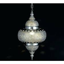 punched tin chandelier punched tin lamp shades