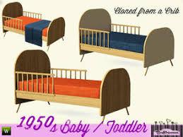 sims 3 cc furniture. 1950s Kids Toddlerbed Sims 3 Cc Furniture