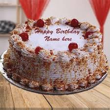 Birthday Cake Name Images Amazingbirthdaycakecf