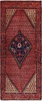 4 x 10 rug runner red ft