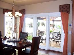 top window coverings for french patio doors and dining room sliding glass door treatments
