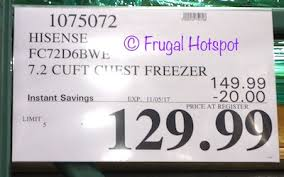 haier chest freezer costco. item #1075072. this product was spotted at the covington, wa location. price and participation may vary so it not be available your local costco or haier chest freezer f