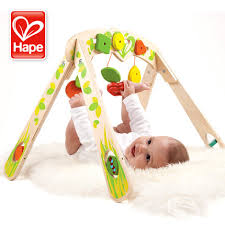 Germany hape frame newborn baby fitness game gift gifts educational toys 0-3 Buy