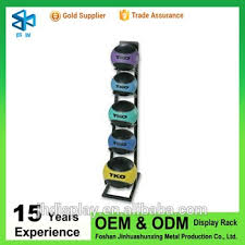 Rugby Ball Display Stand Simple Metal Sport Ball Racks For Shops Football Or Rugby Ball Display