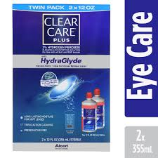 Clear Care Plus Contact Lens Cleaning And Disinfecting